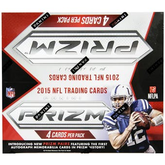 2015 Panini Prizm Football 24-Pack Box