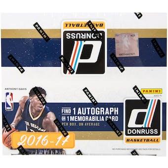 2016/17 Panini Donruss Basketball 24-Pack Box