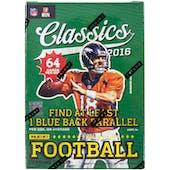 2016 Panini Classics Football 8-Pack Box