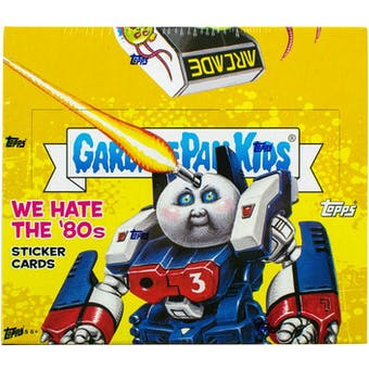 Garbage Pail Kids Series 1 We Hate The 80's Box (Topps 2018)