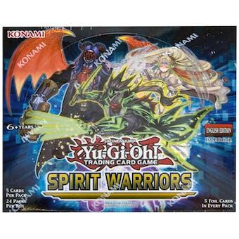 Yu-Gi-Oh Spirit Warriors Booster Box