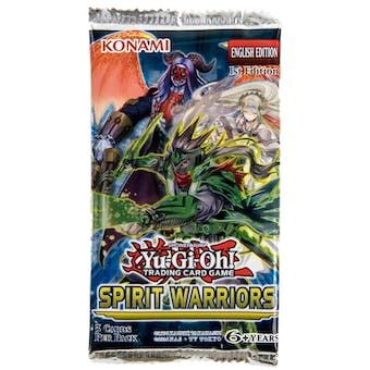 Yu-Gi-Oh Spirit Warriors 1st Edition Booster Pack