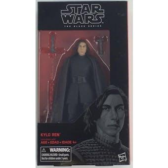 Star Wars E8 Last Jedi Black Series Kylo Ren Figure