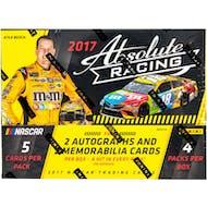 2017 Panini Absolute Racing Hobby Box