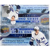 2017/18 Upper Deck Series 1 Hockey 24-Pack Box