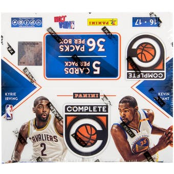 2016/17 Panini Complete Basketball 36-Pack Box