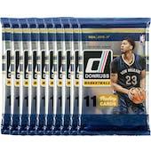 2016/17 Panini Donruss Basketball Blaster Pack (Lot of 10) = 1 Blaster Box
