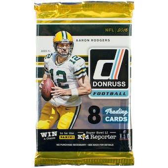 2016 Panini Donruss Football Retail Pack