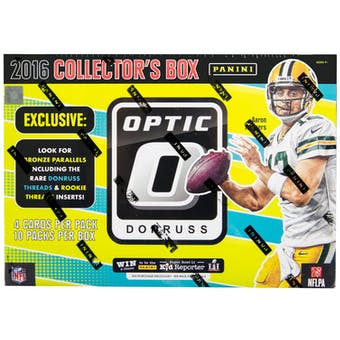 2016 Panini Donruss Optic Football Collectors Box