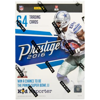 2016 Panini Prestige Football 8-Pack Blaster Box