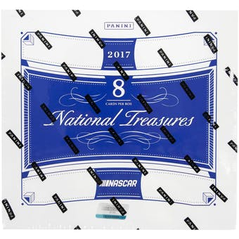 2017 Panini National Treasures Racing Hobby Box