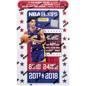 2017/18 Panini Hoops Basketball Hobby Box