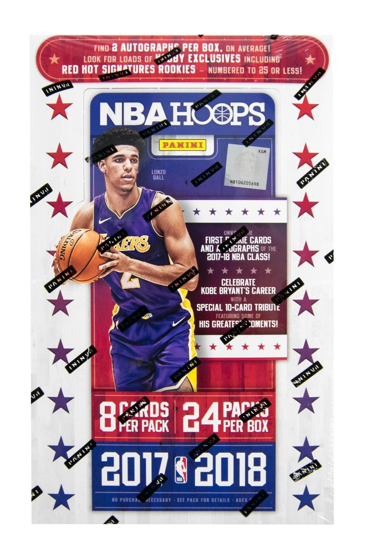 a4f054651e0 2017 18 Panini Hoops Basketball Hobby Box