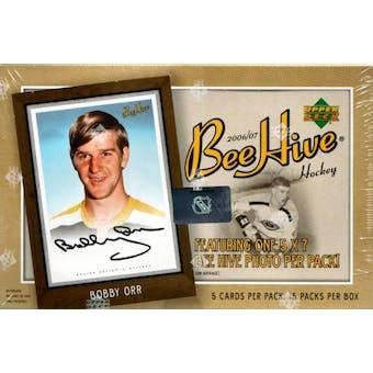 2006/07 Upper Deck Beehive Hockey Hobby Box