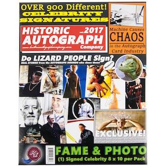 2017 Historic Autograph Fame & Photo Edition Hobby Box