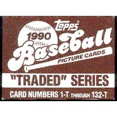 1990 Topps Traded & Rookies Baseball Factory Set (3 Set Lot)