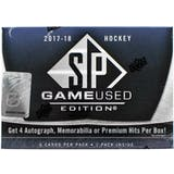 2017/18 Upper Deck SP Game Used Hockey Hobby Box