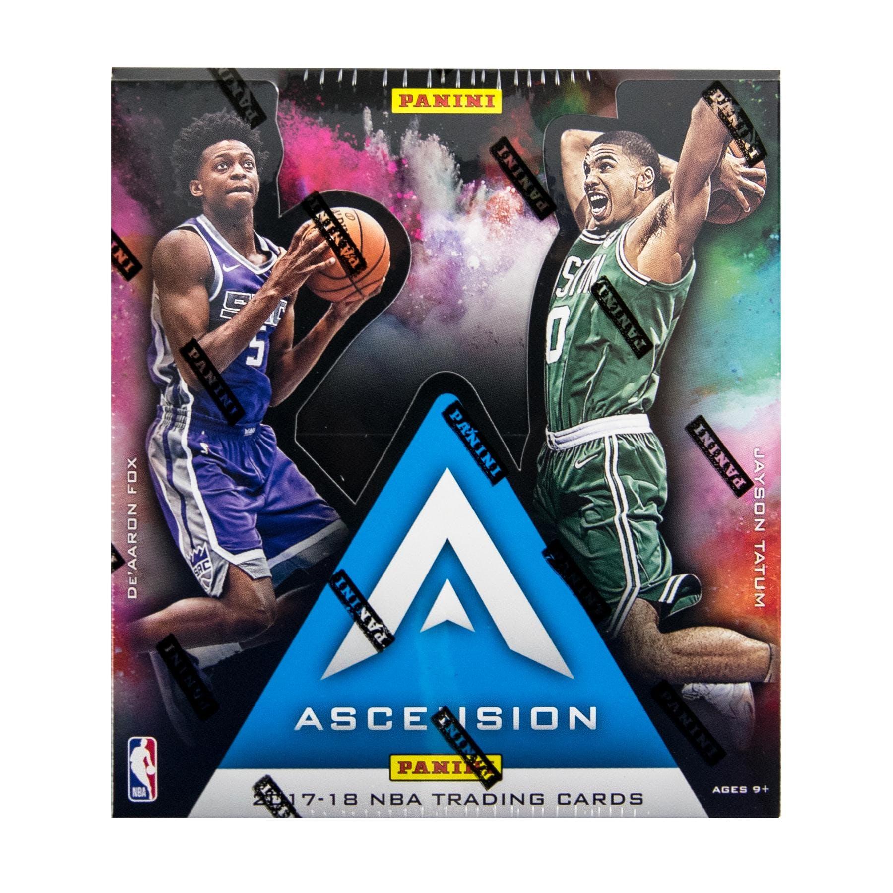d46bbb77660 2017 18 Panini Ascension Basketball Hobby Box