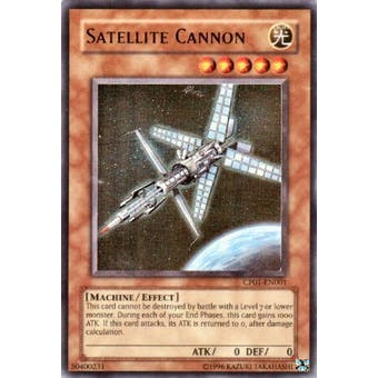 Yu-Gi-Oh Champion Pack 1 Single Satellite Cannon Ultra Rare (CP1-EN001) - SLIGHT PLAY (SP)