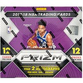 2017/18 Panini Prizm Basketball Hobby Box