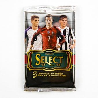 2017/18 Panini Select Soccer Hobby Pack