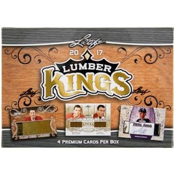 2017/18 Leaf Lumber Kings Hockey Hobby Box