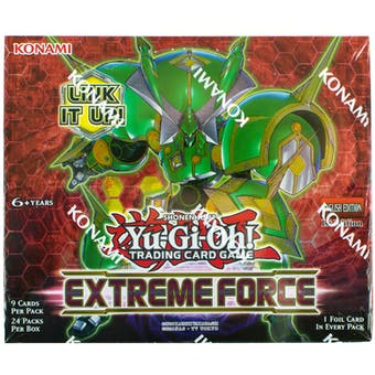 Yu-Gi-Oh Extreme Force Booster Box