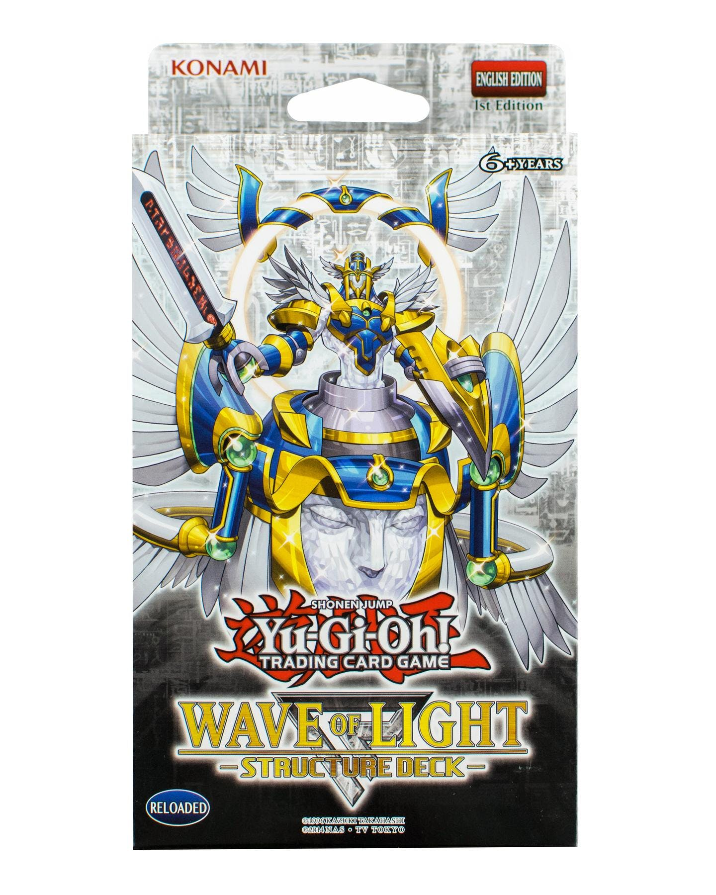 Konami yu gi oh wave of light structure deck da card world konami yu gi oh wave of light structure deck mozeypictures Images