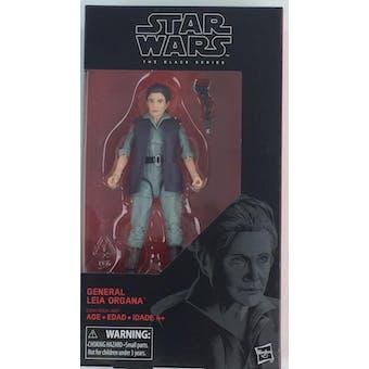 Star Wars E8 Last Jedi Force Awakens Black Series General Leia Organa Figure