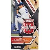 2017 Panini Elite Extra Edition Baseball Hobby Box