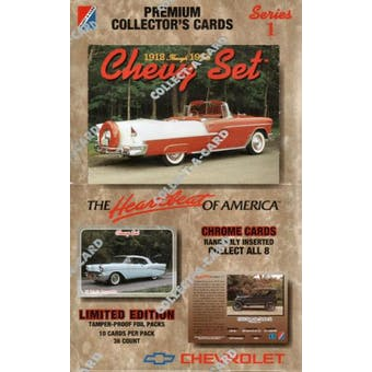 Chevy Set Hobby Box (1992 Collect-A-Card) (Reed Buy)