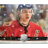2006/07 Upper Deck Be A Player Portraits Hockey Hobby Box