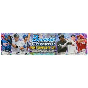 2017 Bowman Chrome Mini Baseball Hobby Box (Set)
