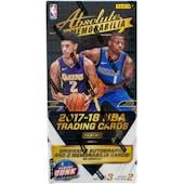 2017/18 Panini Absolute Basketball Hobby Box