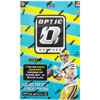 2016 Panini Donruss Optic Football 24-Pack Box