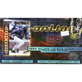 1998 Pacific Online Baseball Hobby Box