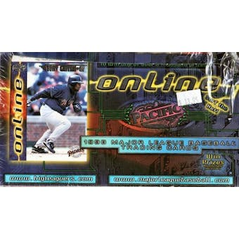 1998 Pacific Online Baseball Hobby Box