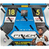 2017/18 Panini Prizm Fast Break Basketball 20-Box Case - DACW Live 30 Spot Random Team Break #1
