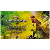 Marvel Thor Ragnarok Trading Cards Hobby Box (Upper Deck 2017)