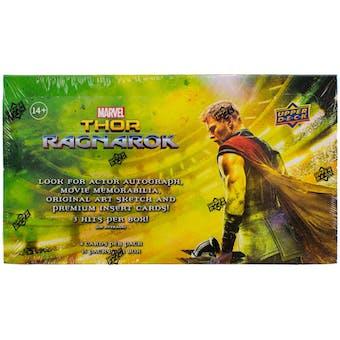 Marvel Thor Ragnarok Trading Cards Hobby Box (Upper Deck 2017)