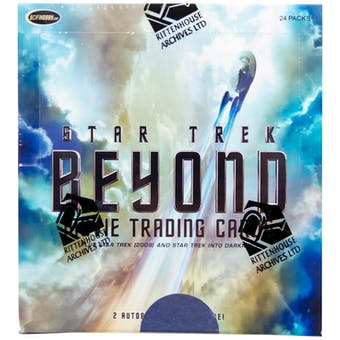 Star Trek Beyond Movie Trading Cards Box (2017 Rittenhouse)
