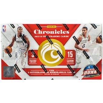2017/18 Panini Chronicles Basketball Hobby 5-Box - DACW Live 6 Spot Random Division Break #2