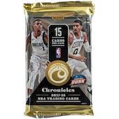 2017/18 Panini Chronicles Basketball Hobby Pack