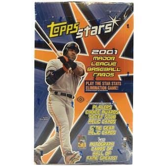 2001 Topps Stars Baseball Hobby Box