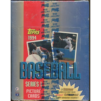 1994 Topps Series 1 Baseball Rack Box