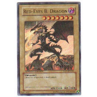 Yu-Gi-Oh Promo Single Red-Eyes B. Dragon Ultra Rare (YAP1-EN002)