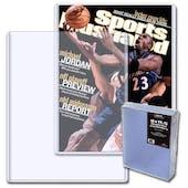 BCW Magazine 9 x 11.5 Topload Holder (10 Ct.)
