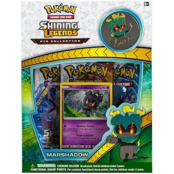 Pokemon Shining Legends Marshadow Pin Box
