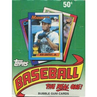 1990 Topps Baseball Wax Box (Reed Buy)