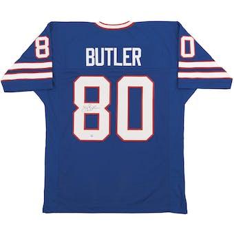 Jerry Butler Autographed Buffalo Bills Football Jersey